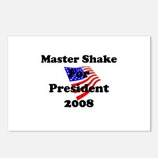 Vote for Master Shake Postcards (Package of 8)