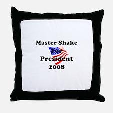 Vote for Master Shake Throw Pillow