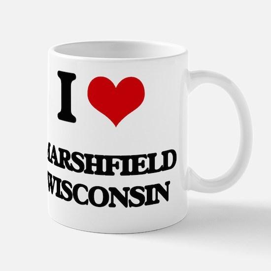 I love Marshfield Wisconsin Mug