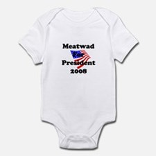 Vote For Meatwad Infant Bodysuit