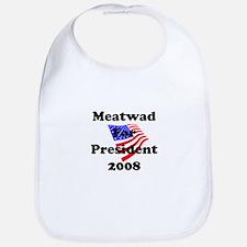 Vote For Meatwad Bib