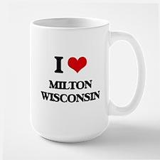 I love Milton Wisconsin Mugs