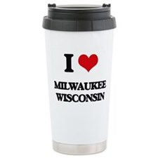 I love Milwaukee Wiscon Travel Mug
