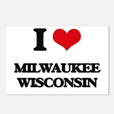 I love Milwaukee Wisconsi Postcards (Package of 8)