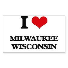 I love Milwaukee Wisconsin Decal