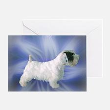 Starlit Sealyham Terrier Greeting Card