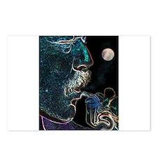 Mirror Moon Postcards (Package of 8)
