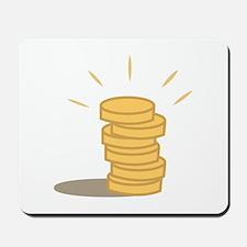 Gold Coins Mousepad