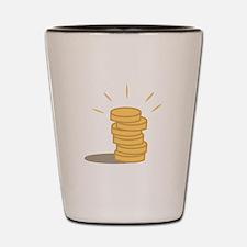Gold Coins Shot Glass