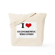 I love Oconomowoc Wisconsin Tote Bag