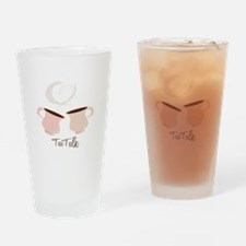Tea Talk Drinking Glass