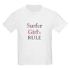 Surfer girl's Rule T-Shirt