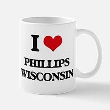 I love Phillips Wisconsin Mugs