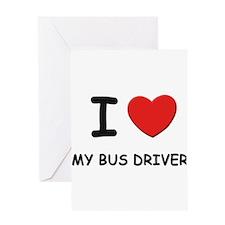 Unique Autobus Greeting Card