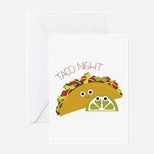 Taco Night Greeting Cards