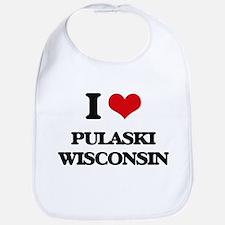 I love Pulaski Wisconsin Bib