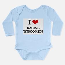 I love Racine Wisconsin Body Suit