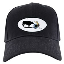 Clown and Bull-No-Text Baseball Hat