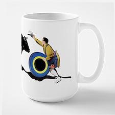 Clown and Bull-No-Text Mug