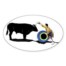 Clown and Bull-No-Text Decal
