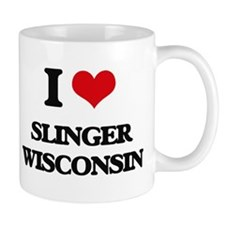 I love Slinger Wisconsin Mugs