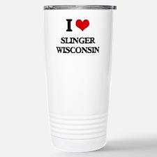 I love Slinger Wisconsi Travel Mug