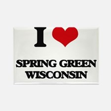 I love Spring Green Wisconsin Magnets