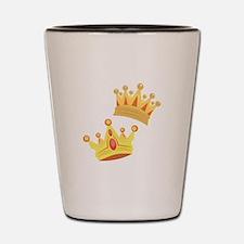 Royal Crowns Shot Glass