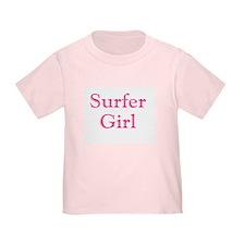 Surfer Girl Pink T