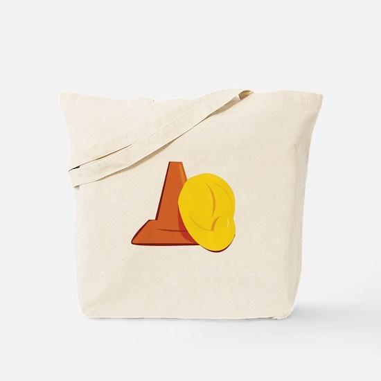 Construction Gear Tote Bag