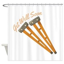 Get Well Soon Shower Curtain
