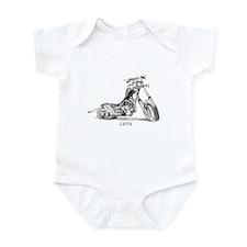 """""""Biker 1972"""" Infant Bodysuit"""