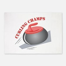Curling Champs 5'x7'Area Rug