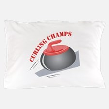 Curling Champs Pillow Case