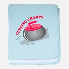 Curling Champs baby blanket