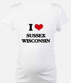 I love Sussex Wisconsin Shirt