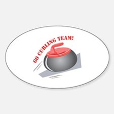 Go Curling Team Decal