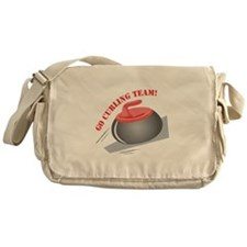 Go Curling Team Messenger Bag