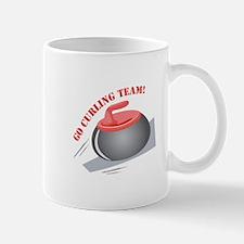 Go Curling Team Mugs