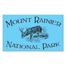 Mount Rainier National Park (Mule Deer) Decal
