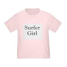 Surfer Girl black T
