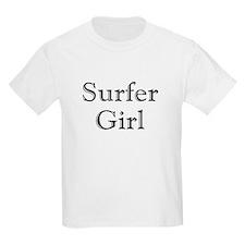 Surfer Girl black T-Shirt