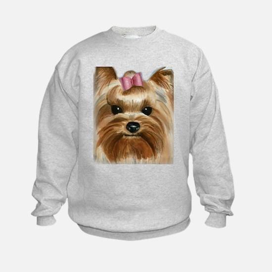 Puppy_Yorkie Sweatshirt