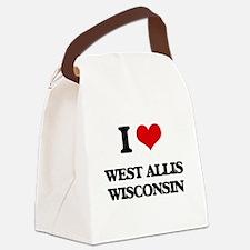 I love West Allis Wisconsin Canvas Lunch Bag