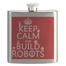 Keep Calm and Build Robots Flask