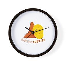 Demolition Stud Wall Clock