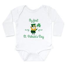 My First St. Patrick's Day Onesie Romper Suit