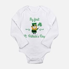 My First St. Patrick's Day Onesie Romper Suit