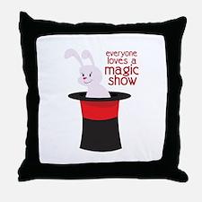 Magic Show Throw Pillow