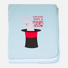 Magic Show baby blanket